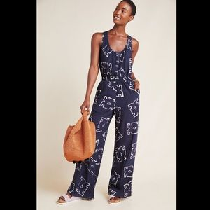 Anthropologie Pants & Jumpsuits - The Odells Phaedra Jumpsuit Anthropologie M NWT